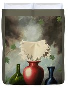 When Evening Falls Duvet Cover