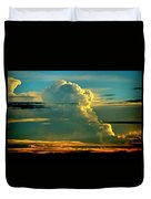 When It Rains In Africa Duvet Cover