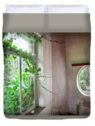 When Nature Takes Over - Abandoned Buildings Duvet Cover