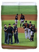When No One Can Decide What To Call A High Fly Ball Duvet Cover