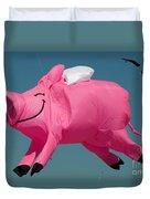 When Pigs Fly Duvet Cover