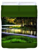 When Summer Glows And Crickets Chirp  Duvet Cover