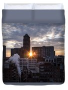 When The City Sleeps Duvet Cover