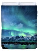 When The Moon Shines Duvet Cover