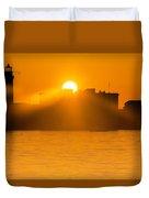 When The Sun Sets Duvet Cover