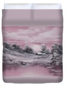When Winter Comes Early Sold Duvet Cover by Cynthia Adams