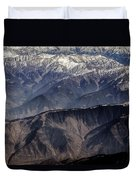 When You Climb Up A High Mountain, You'll See A Myriad Of Mountain Which You Need To Climb Again Duvet Cover