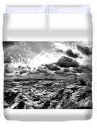 When You Need The Ocean, She Comes Rushing... Duvet Cover