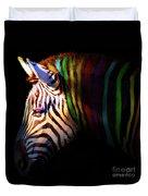When Zebras Dream 7d8908 Square Duvet Cover
