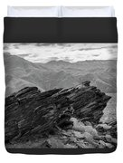 Where Andreas Meets Murray Bw 1 Duvet Cover