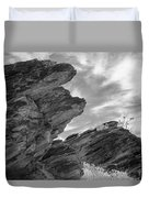 Where Andreas Meets Murray Bw 3 Duvet Cover