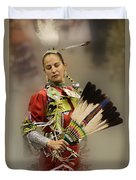 Pow Wow Where Are You Now Duvet Cover