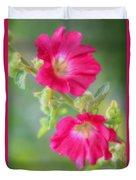 Where Flowers Bloom So Does Hope Duvet Cover