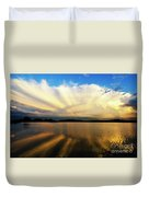 Where Heaven Meets The Earth  Duvet Cover