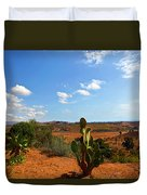 Where The Cactus Grow Duvet Cover