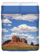 Where The Earth Meets The Sky Duvet Cover