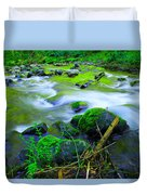 Where The Golden Waters Flow Duvet Cover