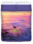 Where The Rainbow Starts Duvet Cover
