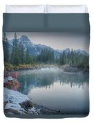 Where The River Bends Duvet Cover