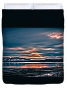 Where The River Ends Duvet Cover