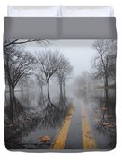 Where The Road Leads Duvet Cover