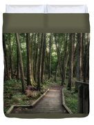 Where The Sidewalk Ends Duvet Cover
