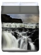 Where The Water Falls Duvet Cover