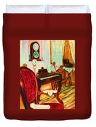 Where Time Stands Still Duvet Cover