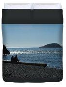 Whidbey Island Beach Duvet Cover