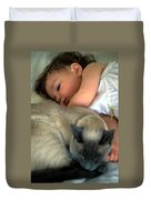 While Baby Sleeps Duvet Cover