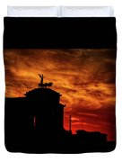 While Rome Burns Duvet Cover