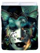 Whimsical Masquerade Duvet Cover