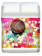 Whimsical Musing High In The Air Duvet Cover