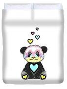 Whimsical Panda  - Cute Animals Duvet Cover
