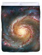 Whirlpool Galaxy  Duvet Cover