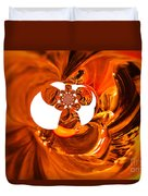 Whirls Abstract Duvet Cover