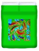 Whirlwind - Abstract Art Duvet Cover