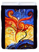 Whirlwind By Madart Duvet Cover