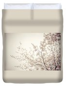 Whisper - Spring Blossoms - Central Park Duvet Cover