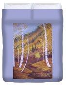 Whisper Of Leaves Duvet Cover