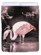 Whisper Pink Flamingo Duvet Cover