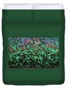 Whispering Grass Duvet Cover