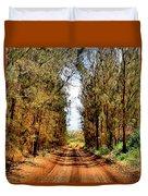 Whispering Pines Duvet Cover