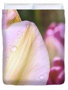 Whispering Tulips Duvet Cover
