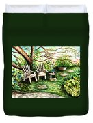 Whispering Winds Duvet Cover