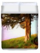 Whispers Of The Wind Duvet Cover