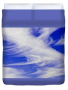Whispy Clouds Duvet Cover