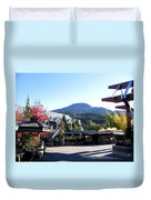 Whistler Mountain Duvet Cover