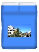 Whistler Village Duvet Cover