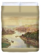 Whitby From Larpool Duvet Cover
